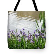 Blue Daffodils Tote Bag