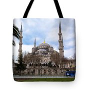 Blue Mosque-- Sultan Ahmed Mosque Tote Bag