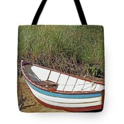 Boat And Anchor Tote Bag