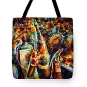 Bottle Jazz Tote Bag