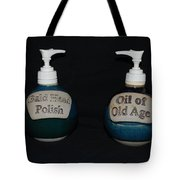 2 Bottles Tote Bag