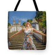 Braga Portugal Woman Tote Bag