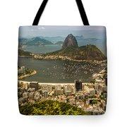 Brasil Rio De Janeiro Tote Bag