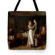 Breaking Home Ties Tote Bag