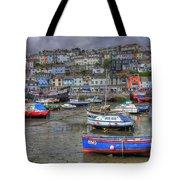 Brixham Harbour Tote Bag
