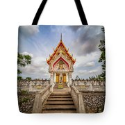 Buddhist Temple Tote Bag by Adrian Evans