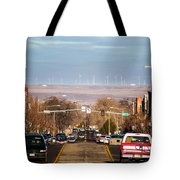Buhl Idaho Trout Capital Of The World Tote Bag by Michael Rogers