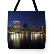 Buildings At The Waterfront, Inner Tote Bag