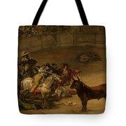 Bullfight - Suerte De Varas Tote Bag