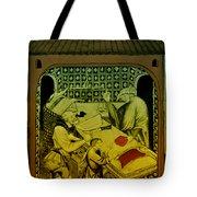 Butcher, Medieval Tradesman Tote Bag