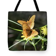 2 Butter Flies Tote Bag