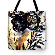 Butterfly Sketch Tote Bag