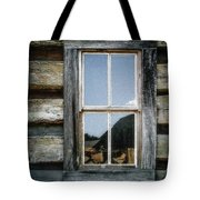 Cabin Window Tote Bag
