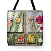 Cactus Collage Tote Bag