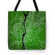 Cairo Street Map - Cairo Egypt Road Map Art On Colored Backgroun Tote Bag