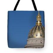 Capital Of West Virginia In Charleston Tote Bag