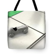 Car Icon On A Boardgame Tote Bag