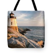 Castle Hill Lighthouse, Newport, Rhode Island Tote Bag