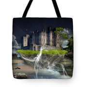 Castle In The Sky Art Tote Bag