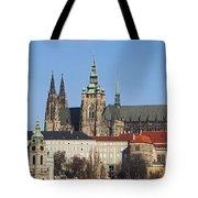 Cathedral Of St Vitus Tote Bag
