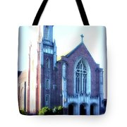 Cathedral Of The Annunciation 2 Tote Bag