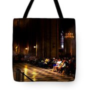 Cathedrale Notre Dame De Paris Tote Bag