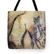 Cave Art: Mammoth Tote Bag