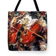 2 Cellos Tote Bag