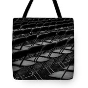 Chair Pattern Empty Seats Tote Bag