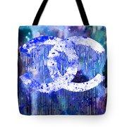 Chanel Art Print Tote Bag
