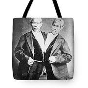 Chang And Eng, Siamese Twins Tote Bag