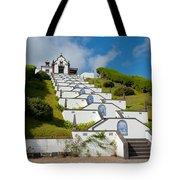 Chapel In Azores Islands Tote Bag