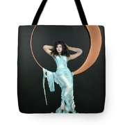 Charles Hall - Creative Arts Program - First Quarter Moon Tote Bag