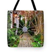 Charleston Gated Garden Tote Bag