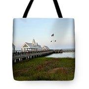 Charleston Waterfront Park During Sunset Tote Bag