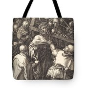 Christ Carrying The Cross Tote Bag