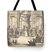 Christ Disputing With The Doctors Tote Bag