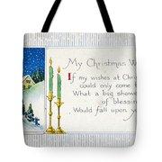 Christmas Postcard Tote Bag