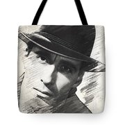 Christopher Lee, Vintage Actor Tote Bag