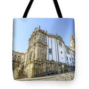Church Of Clerigos Porto Tote Bag