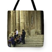 Church Step Lovers Tote Bag