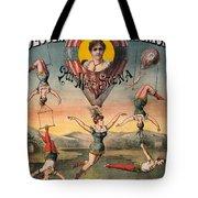 Circus Poster, C1890 Tote Bag