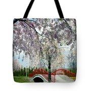 City Lake Park Tote Bag