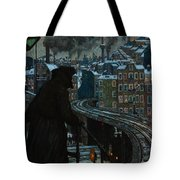 City Of Workers Tote Bag