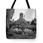 Civil War: Charleston, 1865 Tote Bag