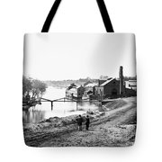 Civil War: Fall Of Richmond Tote Bag