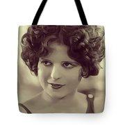 Clara Bow, Vintage Actress Tote Bag