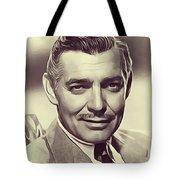Clark Gable, Vintage Actor Tote Bag