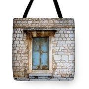 Closed Door Of An Old Chapel In Croatia Tote Bag
