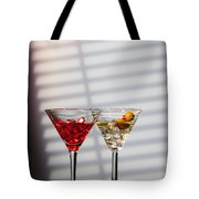 Cocktails At The Bar Tote Bag
